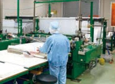 製袋加工工場