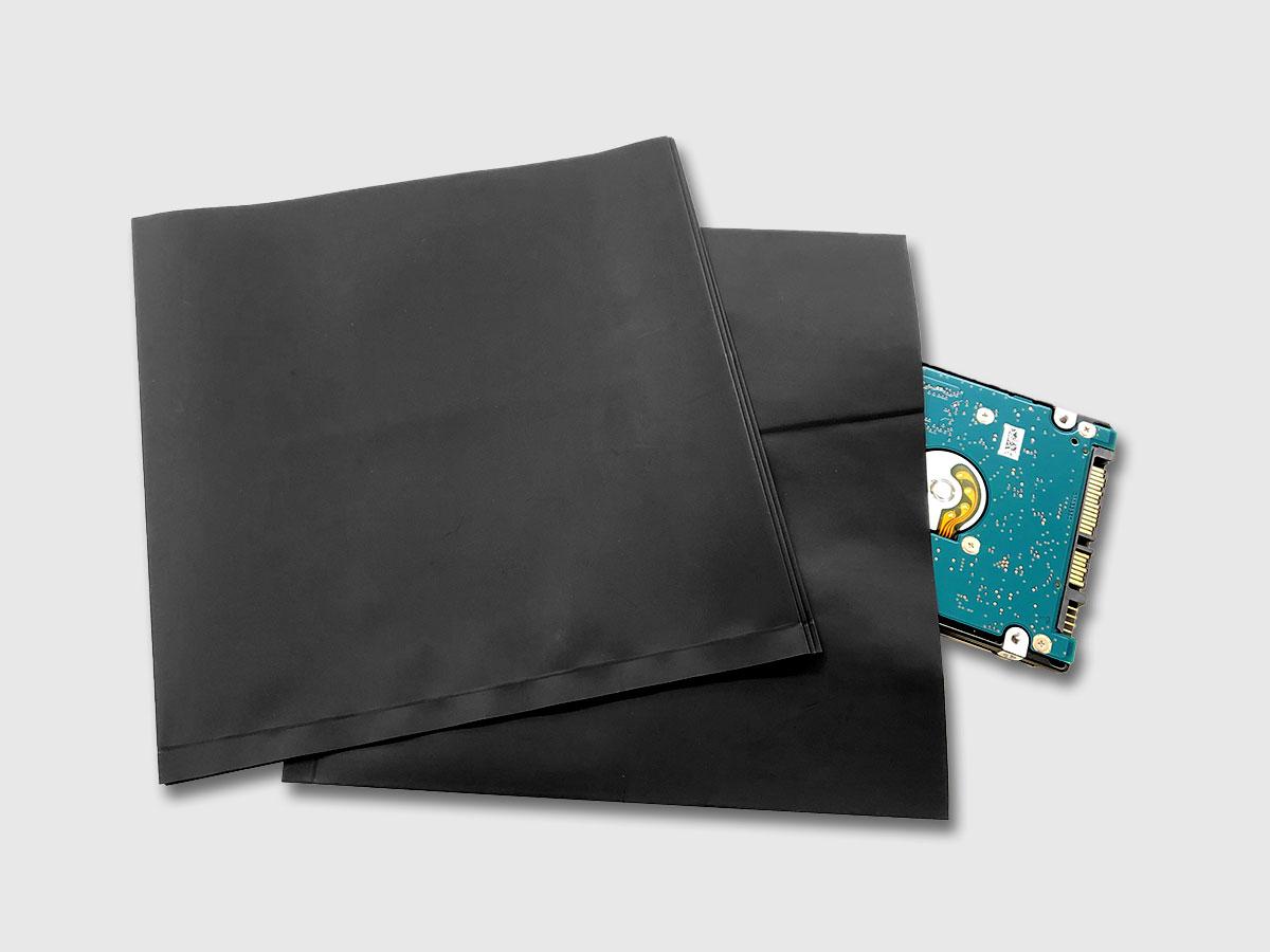 静電気帯電防止袋 導電性タイプ 導電エリートコンテナ内袋